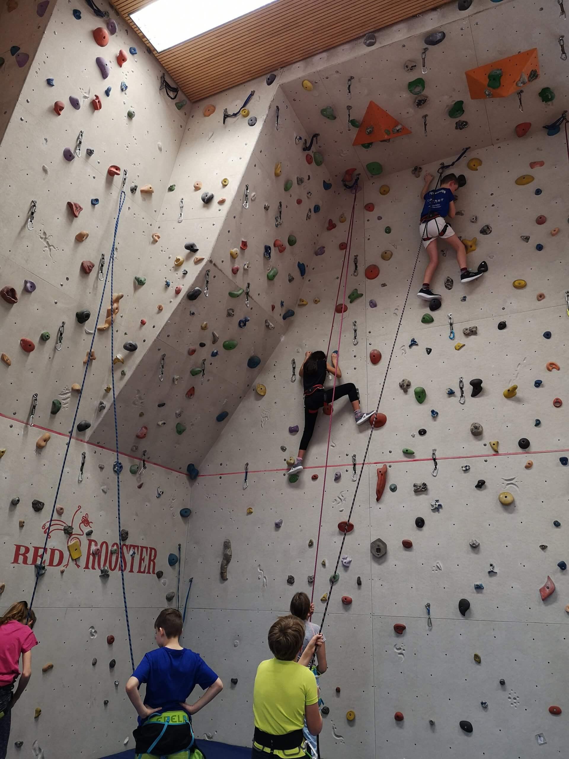 Klettern im Sportunterricht