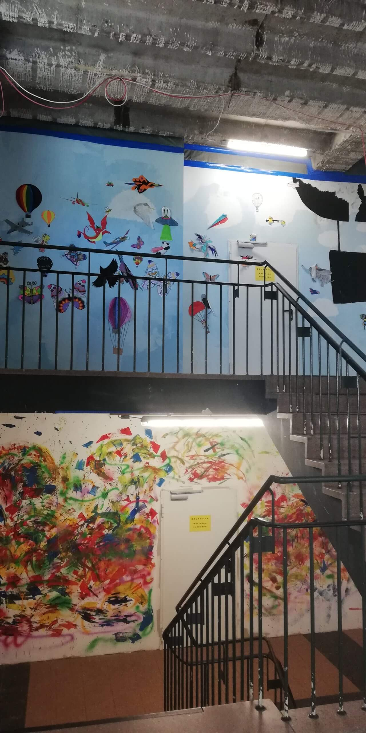 Wir malen unsere Schule an!